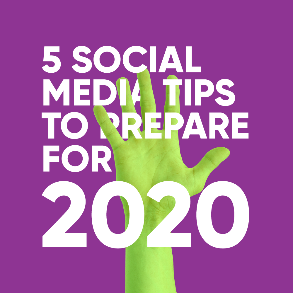 Social Media Tips For 2020 [Infographics]