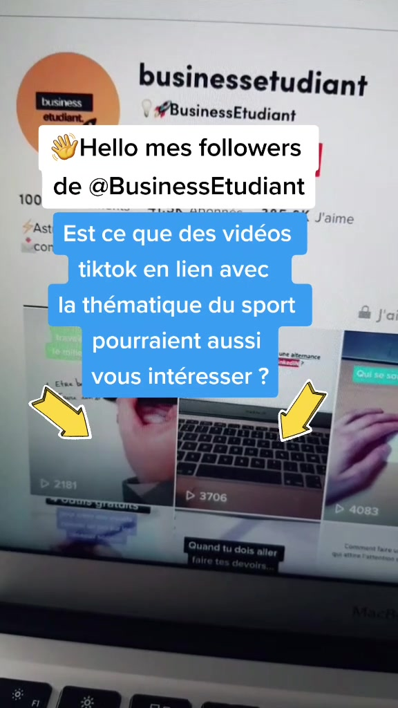 @businessetudiant TikTok Analytics